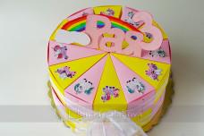 Картонена торта 2